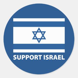 Ayuda Israel Pegatinas Redondas