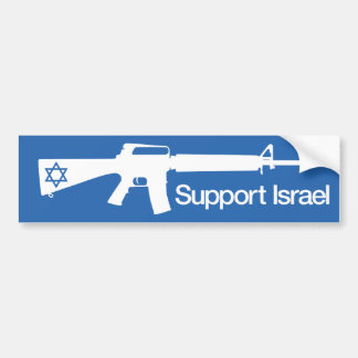 Ayuda Israel - pegatina del conflicto de Gaza Hamá Pegatina De Parachoque