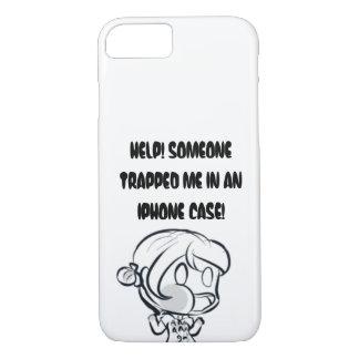 ¡Ayuda me atrapan! Funda iPhone 7