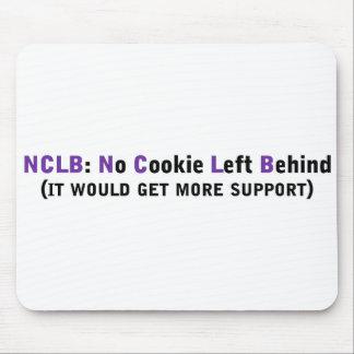 Ayuda NCLB ningunas galletas dejadas detrás Mouse Pads