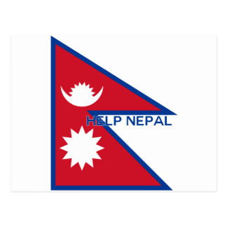 ¡Ayuda Nepal! Postales
