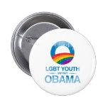 AYUDA OBAMA Vintage.png de la JUVENTUD de LGBT Pins