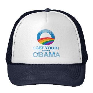 AYUDA OBAMA Vintage.png de LGBT Gorras