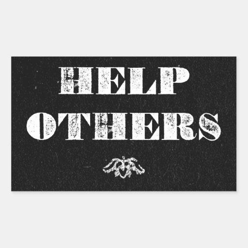 Ayuda otras rectangular altavoces