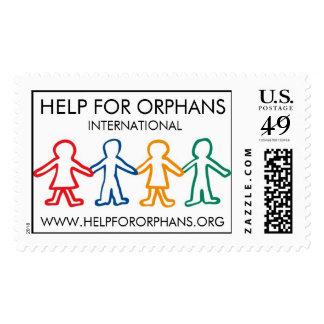 Ayuda para el sello de los huérfanos