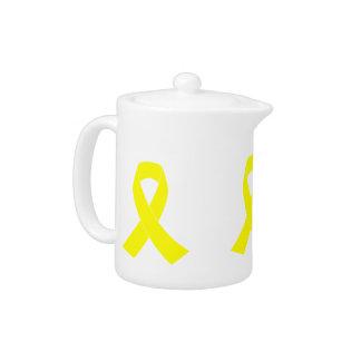 Ayuda para las fuerzas militares - cinta amarilla