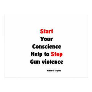Ayuda para parar violencia armada postal