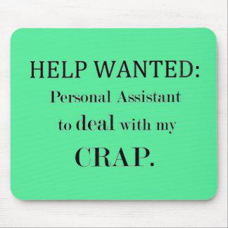 Ayuda querida: Ayudante personal Mousepad