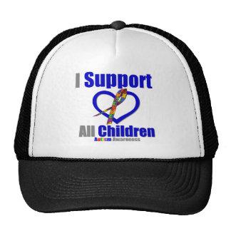 Ayuda toda del autismo I Gorro De Camionero