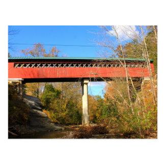 Ayuda Vermont del puente cubierto de Chiselville Postal