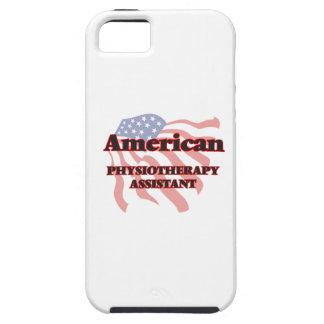 Ayudante americano de la fisioterapia iPhone 5 carcasa