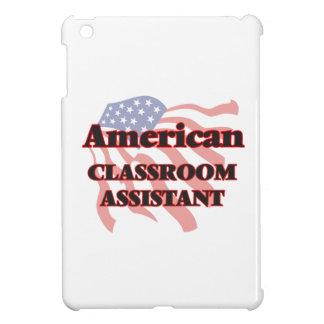 Ayudante americano de la sala de clase