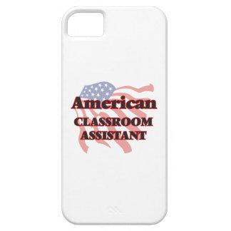 Ayudante americano de la sala de clase iPhone 5 funda