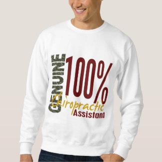 Ayudante auténtico de la quiropráctica suéter