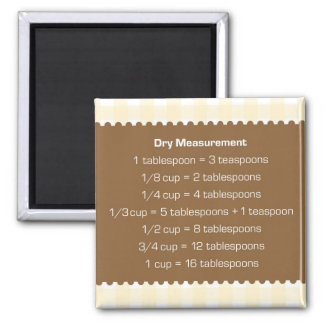 Ayudante beige de la cocina de la carta de la medi imán para frigorifico