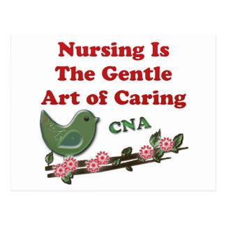 Ayudante de cuidado certificado postales