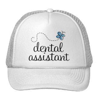 Ayudante de dentista lindo gorra
