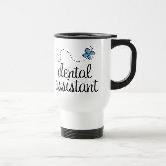 Ayudante de dentista lindo taza