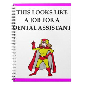 Ayudante de dentista note book