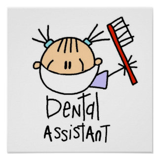 Ayudante de dentista impresiones