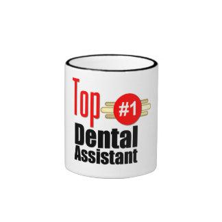 Ayudante de dentista superior tazas