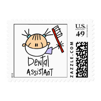 Ayudante de dentista timbres postales