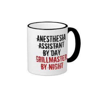 Ayudante de la anestesia de Grillmaster Taza De Dos Colores
