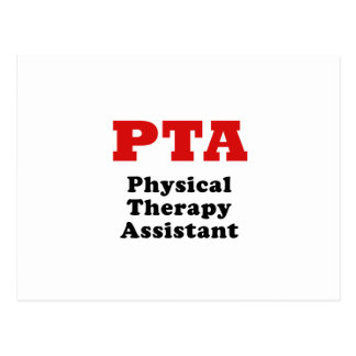 Ayudante de la terapia física de la Pta Tarjetas Postales