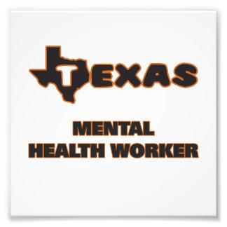 Ayudante de sanidad mental de Tejas Fotografía