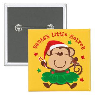 Ayudante de Santas del chica del mono Pins