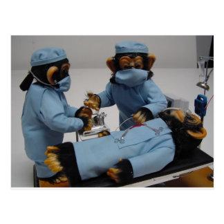 Ayudante del cirujano postales
