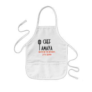 Ayudante del delantal del cocinero pequeño