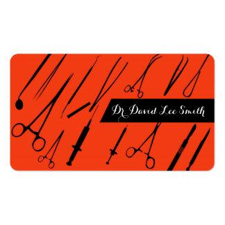 Ayudante del doctor/del cirujano/del cirujano tarjetas de visita