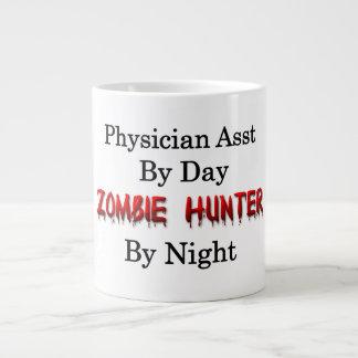Ayudante del médico/cazador del zombi taza de café grande