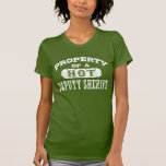 Ayudante del sheriff camiseta