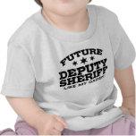 Ayudante del sheriff futuro camiseta