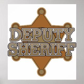 Ayudante del sheriff impresiones