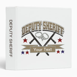 Ayudante del sheriff personalizado