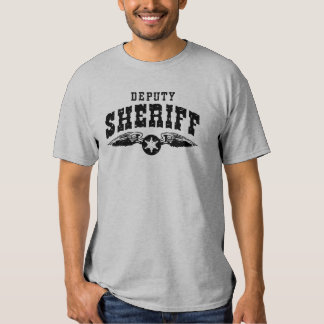 Ayudante del sheriff playeras