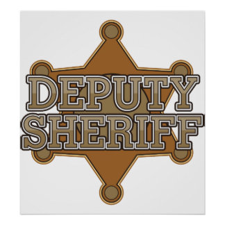 Ayudante del sheriff póster