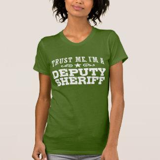 Ayudante del sheriff remeras