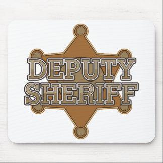 Ayudante del sheriff alfombrillas de raton