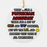Ayudante divertido… OMG WTF LOL del médico Ornaments Para Arbol De Navidad