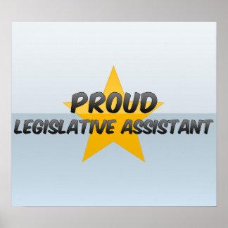 Ayudante legislativo orgulloso posters