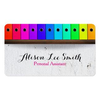 Ayudante personal - ayudante virtual tarjetas de visita