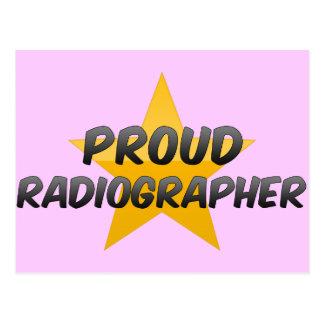 Ayudante radiólogo orgulloso postales