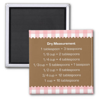Ayudante rosado de la cocina de la carta de la med iman de nevera