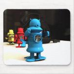 Ayudantes Mousepad del robot del juguete de la coc Tapetes De Ratón