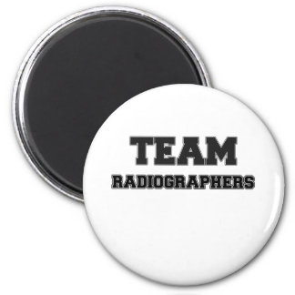 Ayudantes radiólogos del equipo imán redondo 5 cm