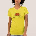 ¡Ayudas de la acupuntura! Camisetas